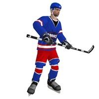 max rigged hockey player
