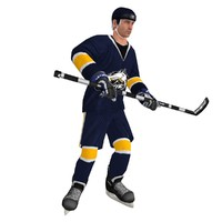 rigged hockey player max