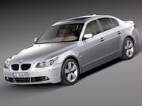 3d model 2010 sedan bmw