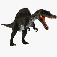 spinosaurus rigged 3d max