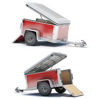3ds max cargo trailer