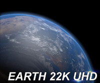 3d model of ultra planet earth 22k