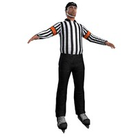 3d hockey referee model