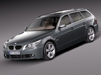 BMW 5-Series e61 Touring 2004-2010
