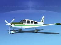 3d propeller piper cherokee 260 model