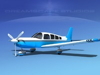 3d model of propeller piper cherokee 260