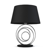 3d designer table lamp model