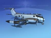 Beechcraft RC-12N Guardrail USAF 3
