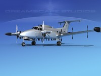 propellers rc-12n guardrail 3d dxf