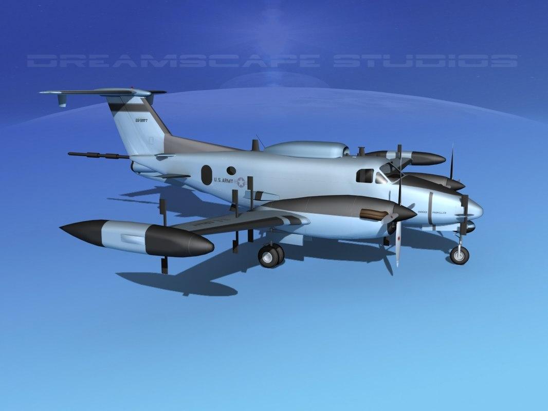 Beechcraft RC-12P Huron V020030.jpg