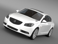 3d buick regal flexfuel 2011-2013 model