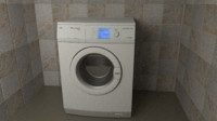 free 3ds model washer aeg