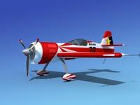 3d sukhoi su-26 aerobatics model