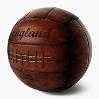vintage soccer ball england x
