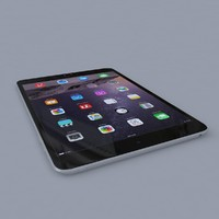 apple ipad mini 3 3d max