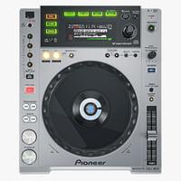 3d digital player pioneer cdj