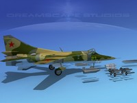 3d model of mig-27 flogger