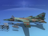 mig-27 flogger russia 3d 3ds
