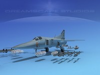 3ds mig-27 flogger india
