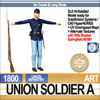 Civil War Union Soldier A Infantry