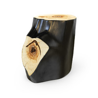 HUDSON B-LOG END TABLE