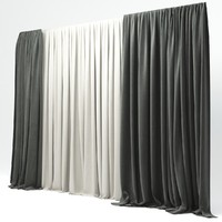 3d curtains