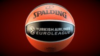 3d spalding euroleague official model