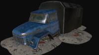 broken truck max