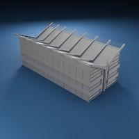 3d generic building model