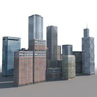 3d new york style model