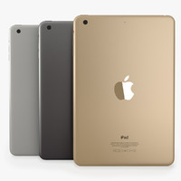 3d model ipad 3 colours