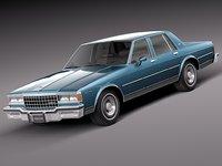 3d model 1978 chevrolet caprice