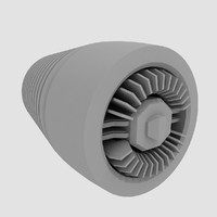 3d model exhaust sci fi
