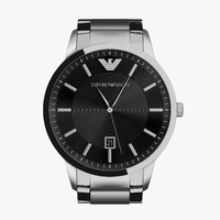 3d emporio armani watch ar2457 model