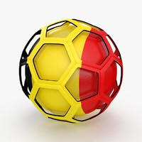 3d soccer ball model