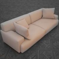 free sofa 3d model
