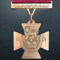 Victoria cross 3d Medal