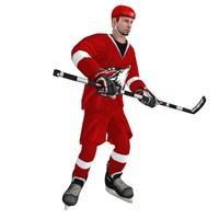 max rigged hockey player 3
