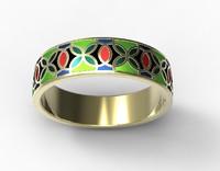3ds gold ring enamel-2