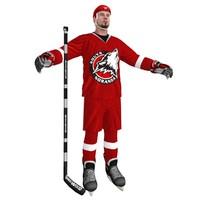 3dsmax hockey player 3