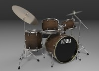 tama acoustic drum sets fbx