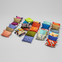 pillows 19 3d max