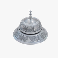3ds max desk bell