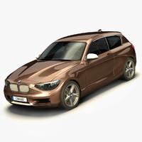 3d model bmw serie 1 2013