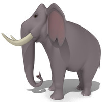 max elephant cartoon