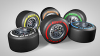 f1 rims tires types obj