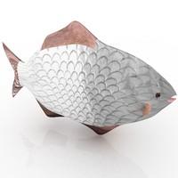 fish man key 3d model