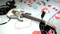 3d c4d steve ibanez jem7vwh guitar