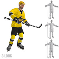 max rigged hockey player s