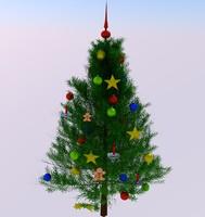 3d tree xmas